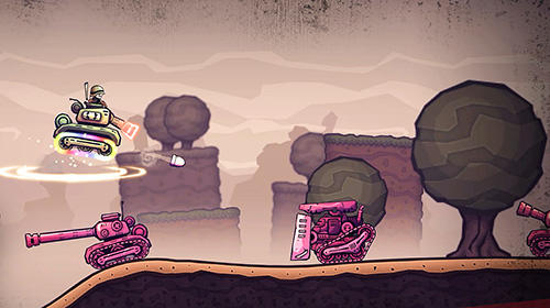 Super mega death tank screenshot 2