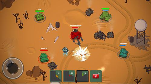 Crash of tanks online für Android