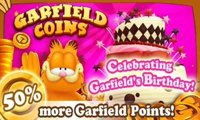 Arcade Garfield Coins für das Smartphone