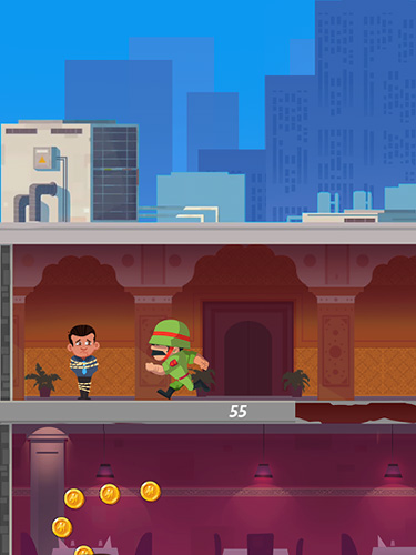 Arcade Captain Solo: Counter strike für das Smartphone