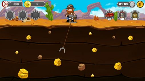 Gold miner: Adventure pour Android