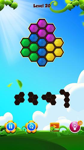 Hexa block puzzle на русском языке