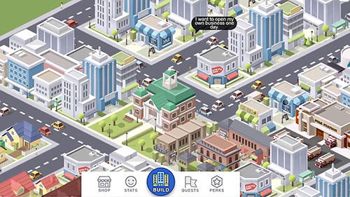 Strategy games Pocket city for smartphone