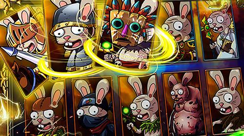 RPG-Spiele Zombie rabbits vs Sheldon für das Smartphone
