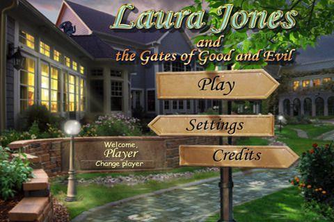 logo Laura Jones und das Tor von Gut und Böse