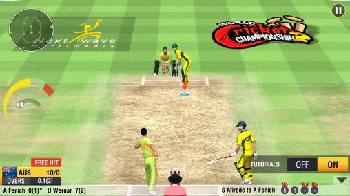 在线 World cricket championship 2智能手机