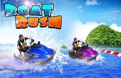 logo Boat Rush ( 3D Racing Games )