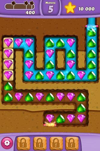 Screenshot Diamond Digger: Saga auf dem iPhone