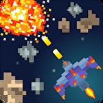 Pixel space blast icono