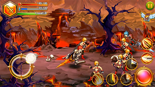 Blade of fire: Legend of warrior Screenshot
