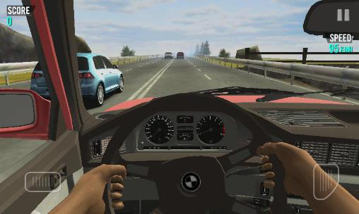 Racing in car pour Android