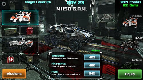 Screenshot Osiris: Schlachtfeld auf dem iPhone
