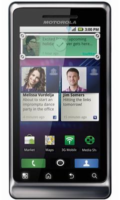 Motorola Milestone 2 apps