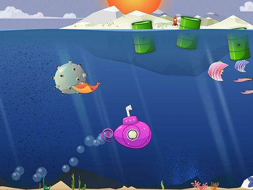 Sous-marins minuscules pour iPhone gratuitement