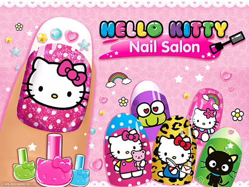 Hello Kitty: Nail salon скриншот 1