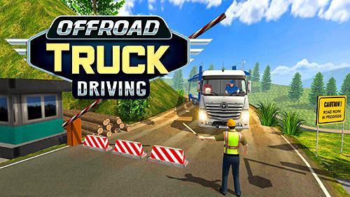 Offroad truck driving simulator capture d'écran