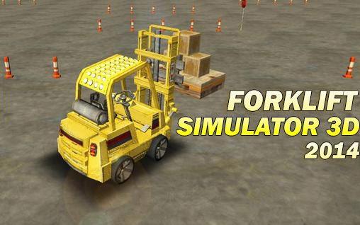 Forklift simulator 3D 2014 Screenshot