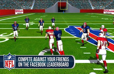 Screenshot NFL Pro 2014: Ultimative American Football Simulation auf dem iPhone