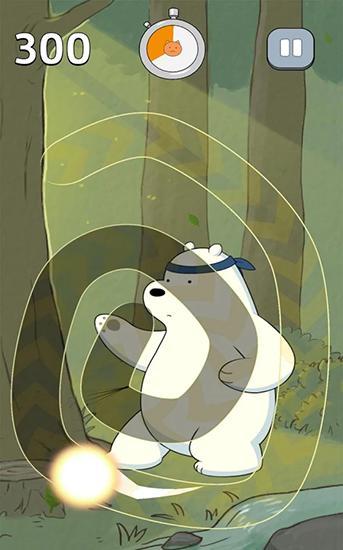 Für Kinder Free fur all: We bare bears für das Smartphone
