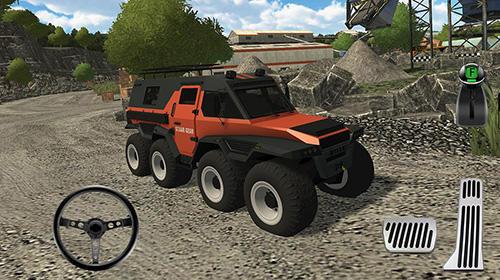 ТракторQuarry driver 3: Giant trucksукраїнською