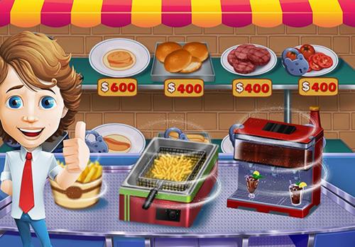 Food court fever: Hamburger 3 für Android