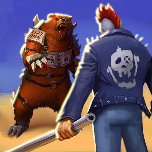 Wasteland Punk - post apocalypse open world RPG icono