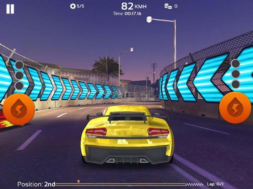 ГонкиSpeed cars: Real racer need 3Dдля смартфону
