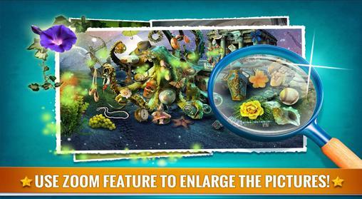 Abenteuer-Spiele Hidden objects: Fantasy für das Smartphone
