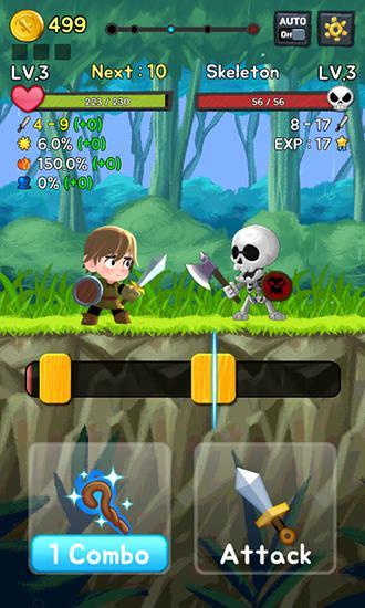 Juegos RPG de estrategia Combo heroes en español