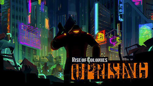 Rise of colonies: Uprising. Cyberpunk 3D action game Screenshot