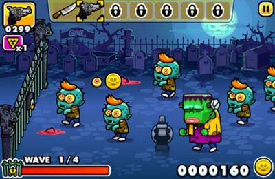 Monster Chaos: Zombies schiessen und Turm verteidigen auf Deutsch