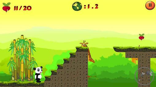 Аркады игры: скачать Jungle panda runна телефон