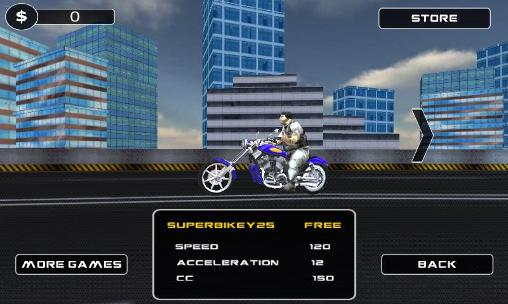 Moto racing 3D for Android