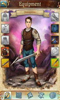 RPG Book of Heroes für das Smartphone