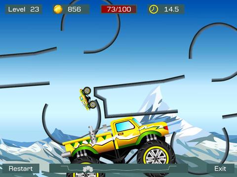 Screenshot Monster Truck Stunts auf dem iPhone