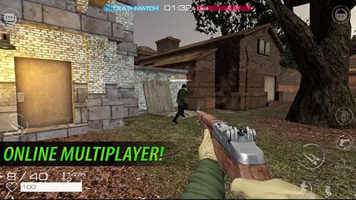 Juegos de disparos Vanguard online: WW2 en español