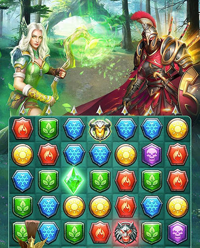 Myth wars and puzzles: RPG match 3 для Android
