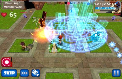 MonsterDefense 3D for iPhone for free