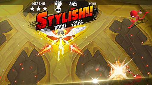 Sniper shooter stickman 3: Fury für Android