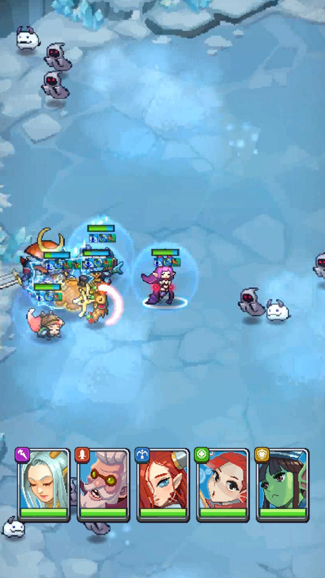 The Game is Bugged! - Guardian Idle RPG скриншот 1