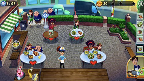 Diner dash adventures auf Deutsch