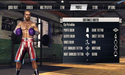 Sportspiele Real Boxing für das Smartphone
