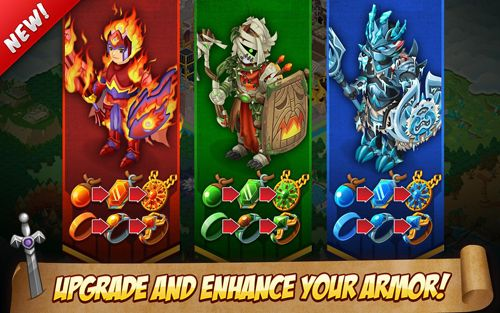 Knights and dragons for iPhone