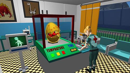 Arcade Jurassic dinosaur park craft: Dino world für das Smartphone