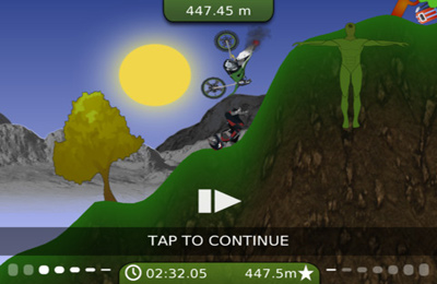 Screenshot King of the Hill on iPhone