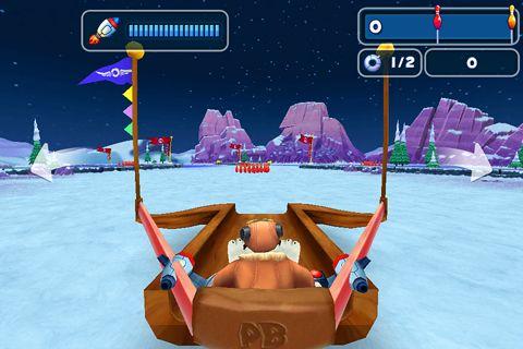 Captura de pantalla Juego de bolos polar en iPhone