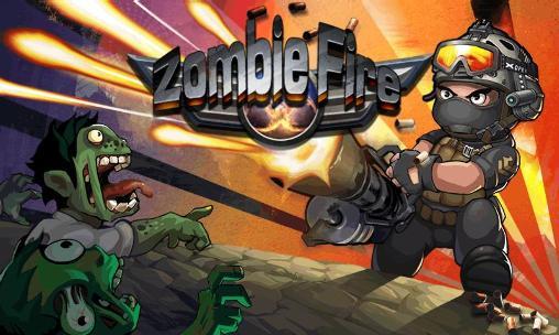 Zombie fire icon