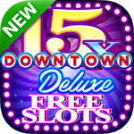Downtown deluxe slots icono