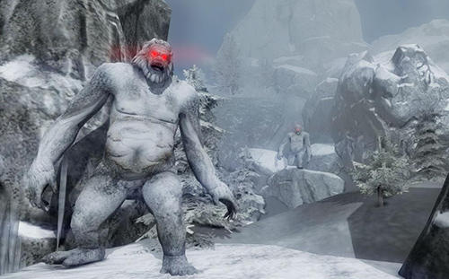 Yeti monster hunter für Android