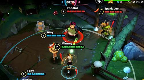 RPG-Spiele Awakening of heroes: MOBA 5V5 für das Smartphone
